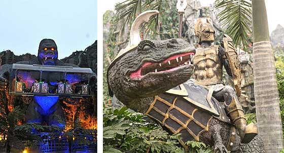 常州恐龙园,现实中的童话王国 常州恐龙园推荐 老于推荐
